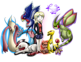 Commish: Team Roxie by Kitzophrenic