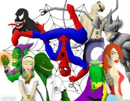 spiderman by roschwoe - Color by RocknRedneck1 by ROSchwoe