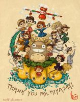 Thank you Mr. Miyazaki by rue789