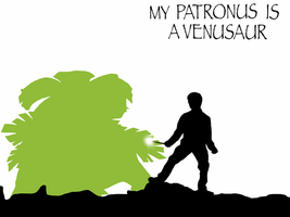 My Patronus is a Venusaur by Mr-Saxon