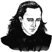 Loki in suit (updated) by Cris-Nicola