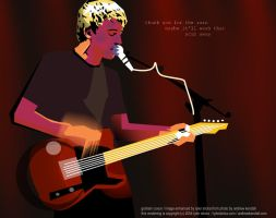 uber-guitarist Graham Coxon by tylersticka
