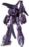 PMX-000 Messala (mobile suit mode) by unoservix