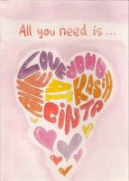All You Need is Love by artemiscrow