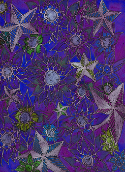 Nautical Flowers Re-filtered by arsenic-butterfly
