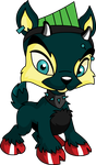 Duncan The Ixi by skull1045fox