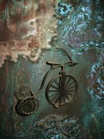 Blue - Bicycle by ClockworkMarionette