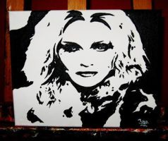 Madonna by NoRespectGrafix