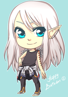 Happy Birthday for Nerior by SashaVasileva