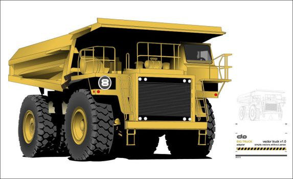 BIG Truck by adapter