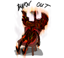 Burn Out- Emoticon by rocket-child