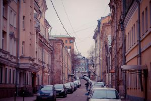 Moscow street by kotopez