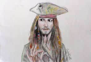 Captain Jack Sparrow by DashutaDoll