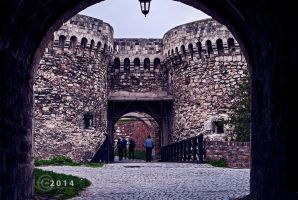 Passage to the inner courtyard by peleplay