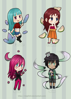 TA: Colored Chibis Batch 3 by Mig515