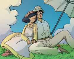 Summer Snooze - The Wind Rises by Noidatron