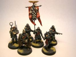 Krieg Company Command by ByTheDock