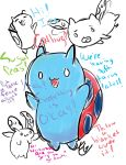 Catbug Sketchdump by Bellaminion