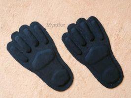 WIP fursuit feet rubber soles by Mystic-Creatures