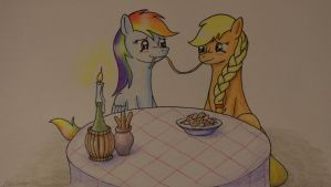 AppleDash - Lady And The Tramp by Hector-LLG