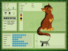 Character Sheet - Slykit by Winterstream