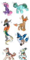 MLP Adoptables CLOSED by Terastrial-Sprout