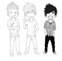 Chibi Wong Fu W.I.P by footlongCOMBUSTION