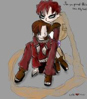 Hanna and Gaara Forever by Ally-Yasha