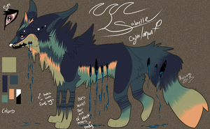 Adoptable Wolf by Patienceforever1