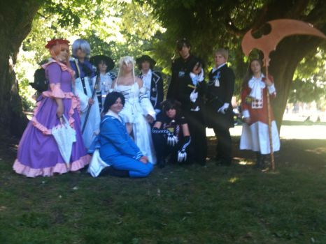 Pandora Hearts Shoot (with Alice Eliot and Leo) by Soukan-tsuki