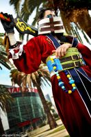 Final Fantasy X: Auron in LA by the-sushi-monster