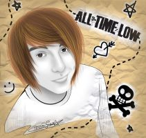 All Time Low - Alex Gaskarth by xXxBLUExROSExXx