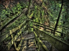 HDR Stairs Stock by sixwings