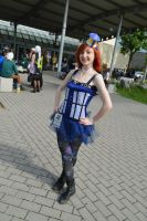 My Tardis cosplay by LoraCosPlay