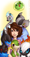 let me show you my pokemons by caydett