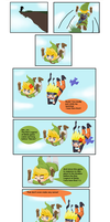 Zelda Skyward Sword comic by Greenear77