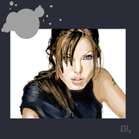 Angelina Jolie. by Tifaerith