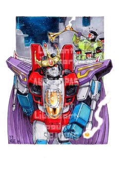 King Starscream coronation by a-loft-on-cybertron