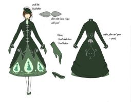 Dress for FPF design contest by catiniata