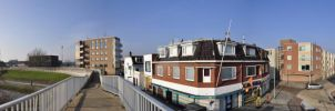 Panoramic view of Delfzijl by NightstreetDreamer