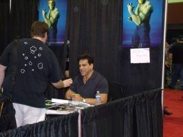 Lou at Megacon by ARTISTBAKER2011