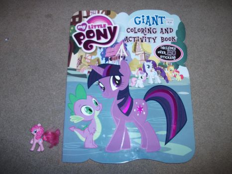 GOT THIS TWO FOOT TALL COLORING BOOK AT COSTCO by Spitfire-Comics