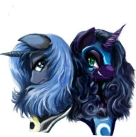 Luna And NMM by Balderdash999