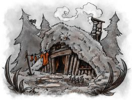 The Witch House by dracolychee