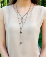Womens necklace in vintage style by DafnaDar