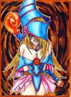 The sin of Dark Magician Girl by CupidYamiVolta