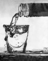 A glass of water by Mehdiunkut