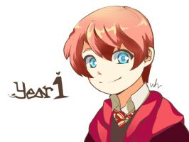 Ron (1st year) by skywet