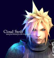 FFVII - Cloud Strife by MayaRokuaya