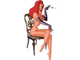 Jessica Rabbit - Nude by Hamhole